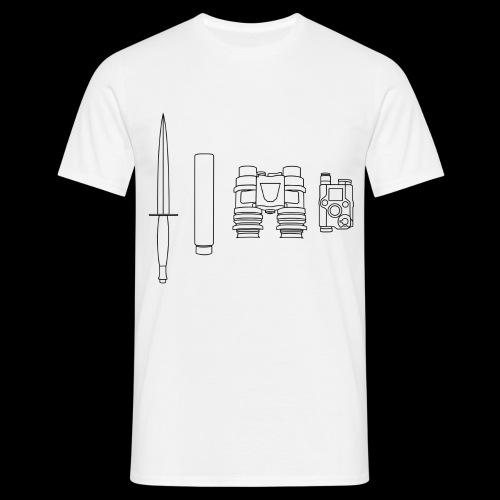 SOPMOD schwarz - Männer T-Shirt