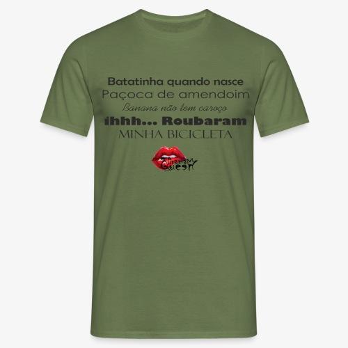 Minha bibicleta - Men's T-Shirt