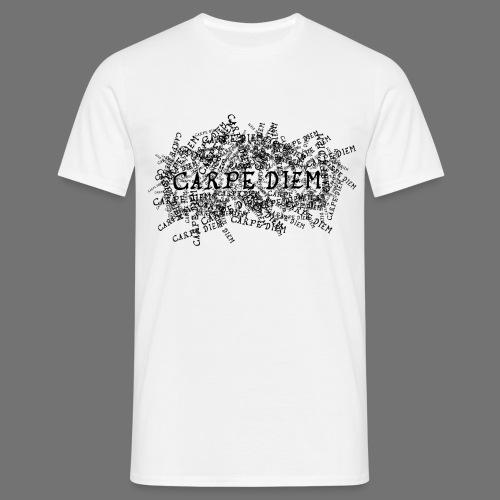 carpe diem (black) - Men's T-Shirt