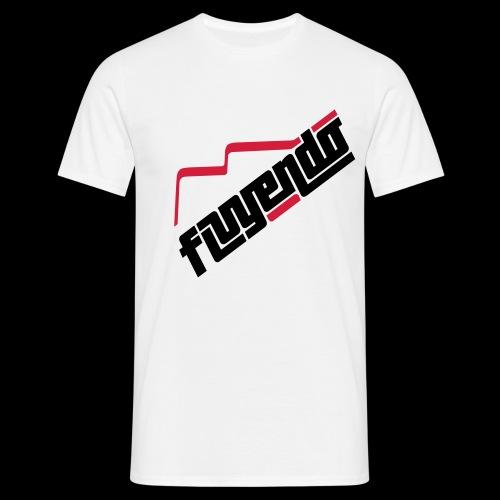 fluyendo logo - Men's T-Shirt