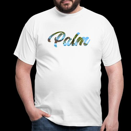 Beach Palm - Herre-T-shirt