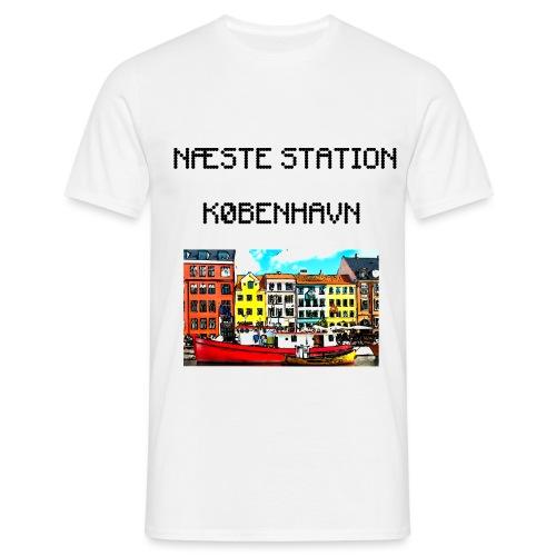 Næste station København - Herre-T-shirt