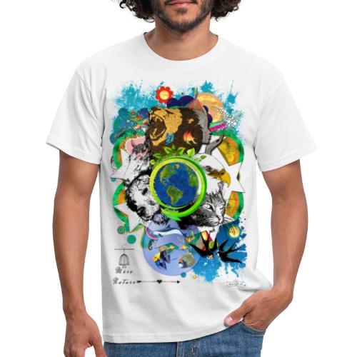Terre Mère Nature (Fr) -by- T-shirt chic et choc - T-shirt Homme