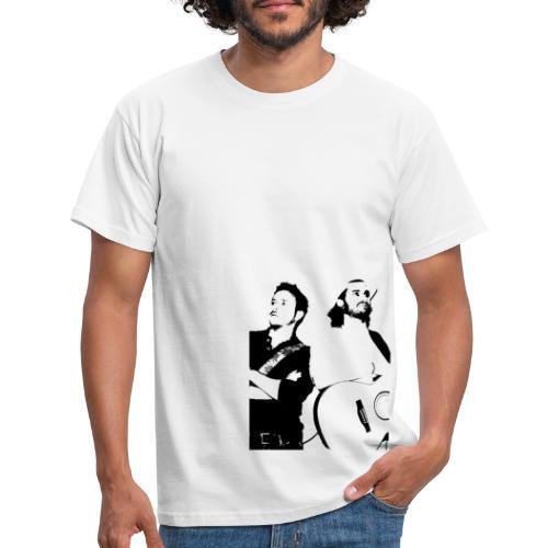 Das Schwarz-Weiße Bild - Männer T-Shirt