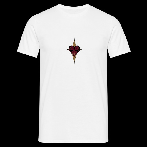 Coeur rouge royal - T-shirt Homme
