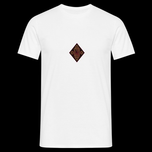 Losange royal rouge - T-shirt Homme