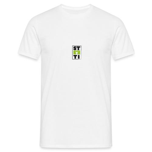 Steeti logo på vänster arm - T-shirt herr