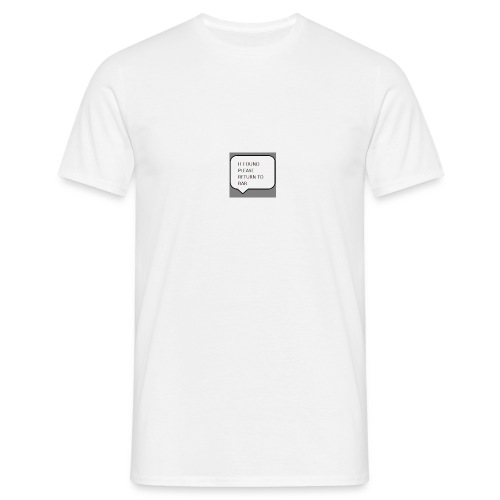 DRUNK - Men's T-Shirt