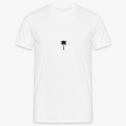 Palm -White - Herre-T-shirt