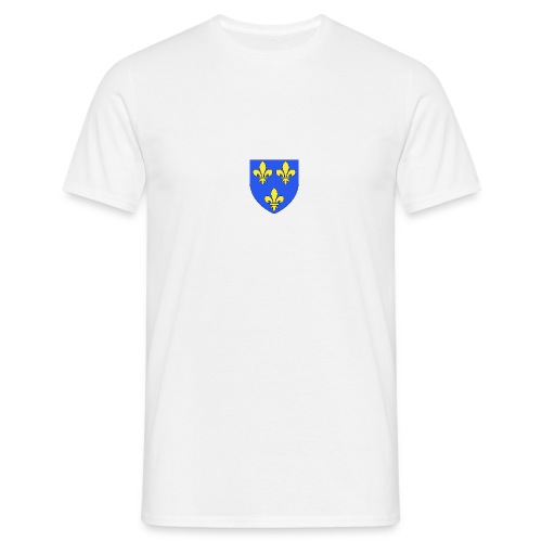 Blason royal 3 fleurs de Lys - T-shirt Homme