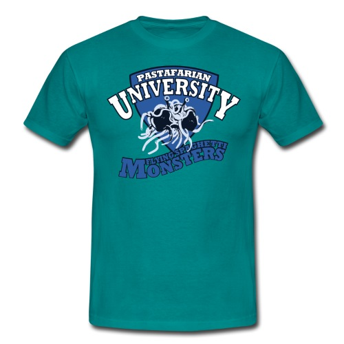 Pastafarian University FSM s shirt - Men's T-Shirt