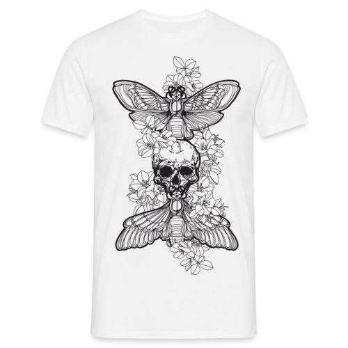 SkullMothDark - Männer T-Shirt