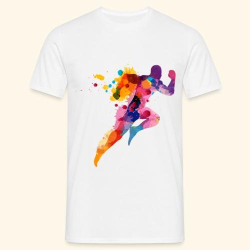 Running colores - Camiseta hombre