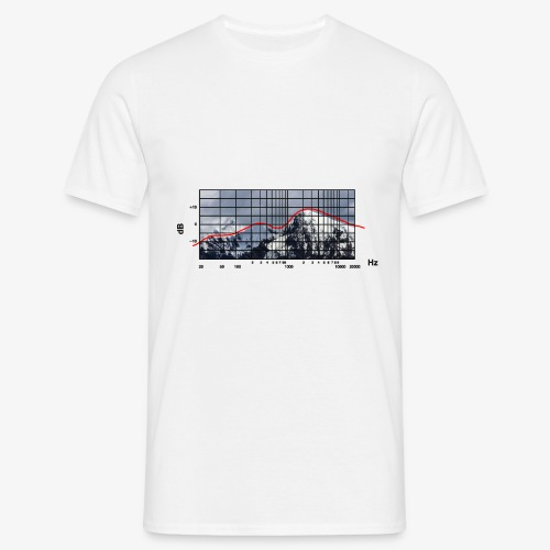 Frequency Alpin Response - Ljus - T-shirt herr