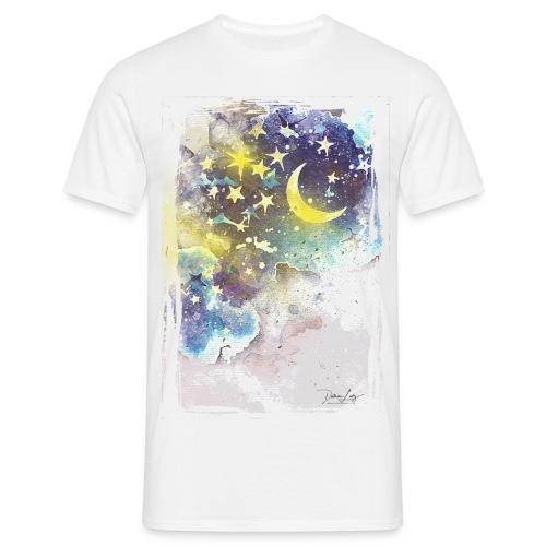 nightsky - Männer T-Shirt