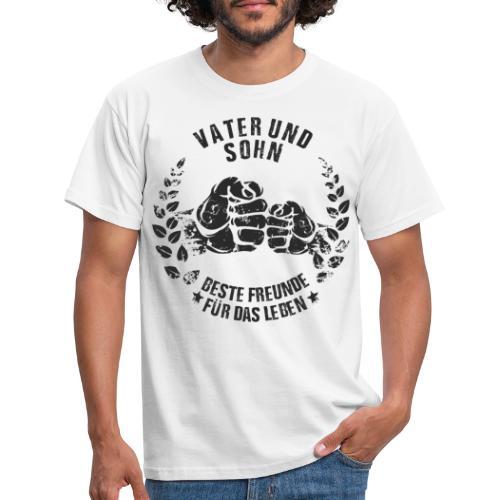 Vater und Sohn beste Freunde für das Leben - Männer T-Shirt