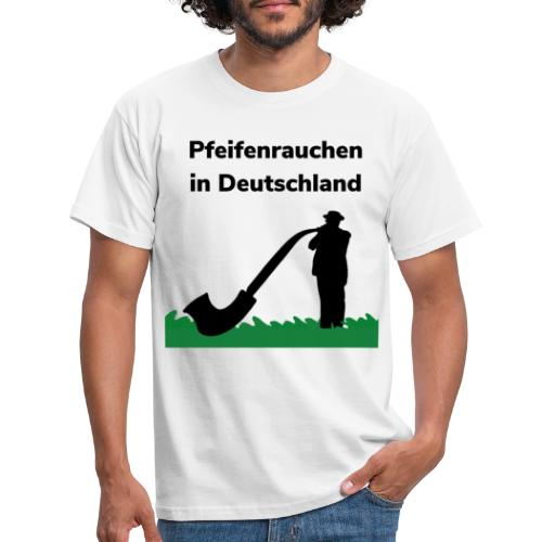 Pfeifenrauchen - Maglietta da uomo