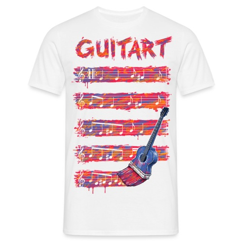 GuitArt - Men's T-Shirt