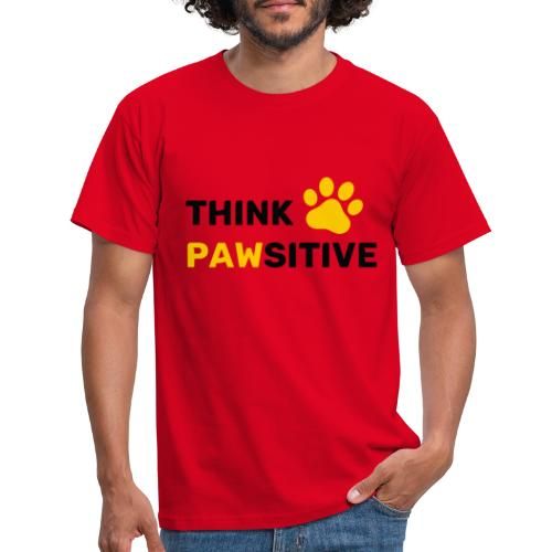 think pawsitive - T-shirt Homme
