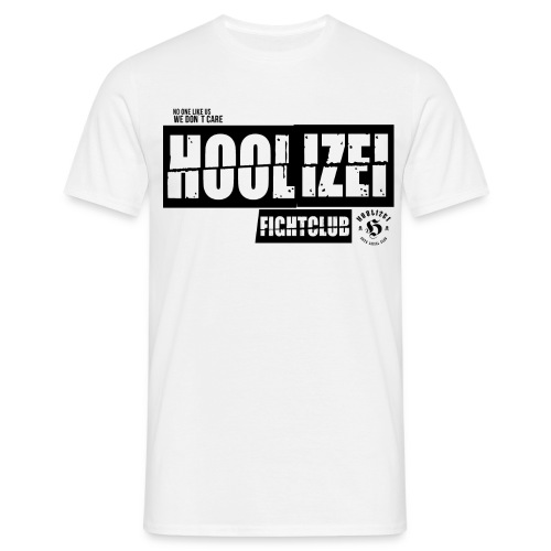 Hoolizei Figthclub - Männer T-Shirt