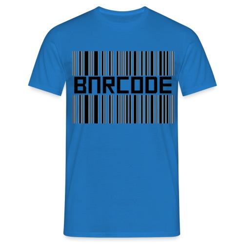 BARCODE WHITE - Men's T-Shirt