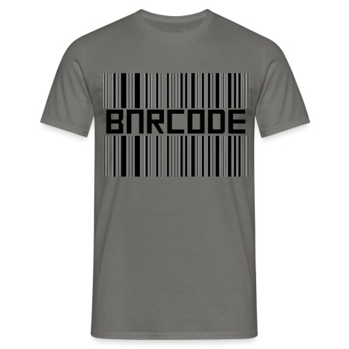 BARCODE WHITE - Men's T-Shirt