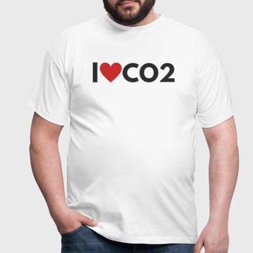 I LOVE CO2 - Miesten t-paita