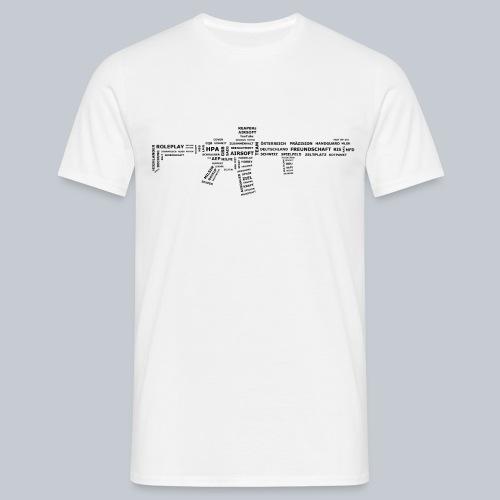 TXT RIFLE (BLACK) - REAPERs Airsoft - Männer T-Shirt