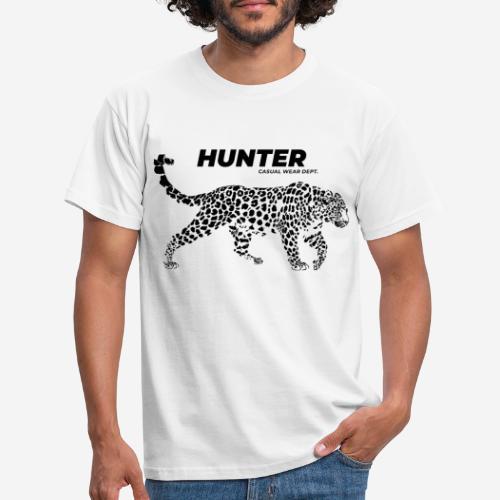 Leopardenjäger tragen - Männer T-Shirt