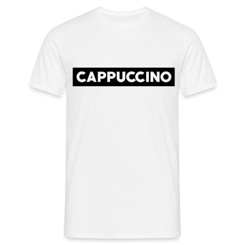 Cappuccino - Männer T-Shirt