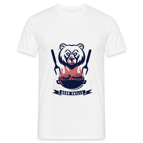 Bear Grills - T-shirt herr