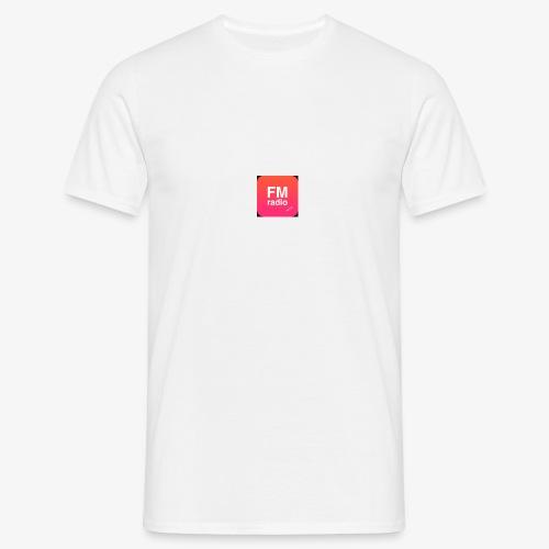 logo radiofm93 - Mannen T-shirt