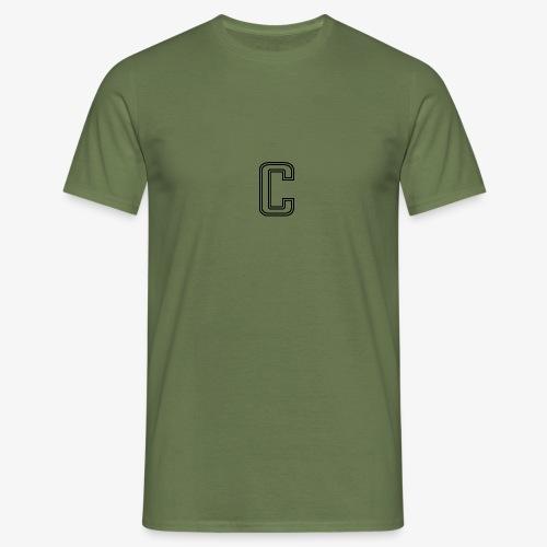 thiccc C logo WHITE - Men's T-Shirt