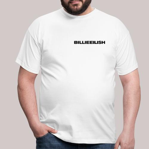 Billie Eilish logo - Mannen T-shirt