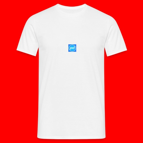 pd Blue V2 - Herre-T-shirt