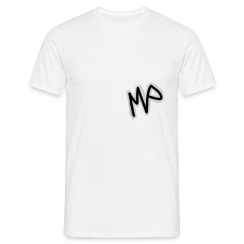 Melwin Playz letter logo - T-shirt herr