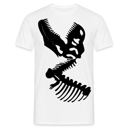 Esqueleto Dinosaurio - Camiseta hombre