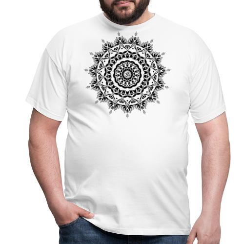 OM MANDALA LOGO - Männer T-Shirt