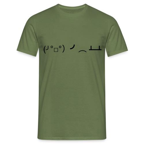 fackdiss - T-skjorte for menn