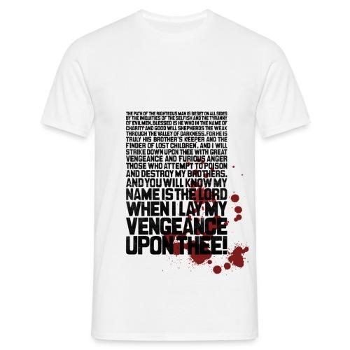 Bloody Ezekiel 25 17 - Men's T-Shirt