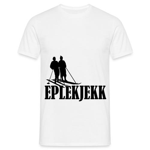 eplekjekk - T-skjorte for menn