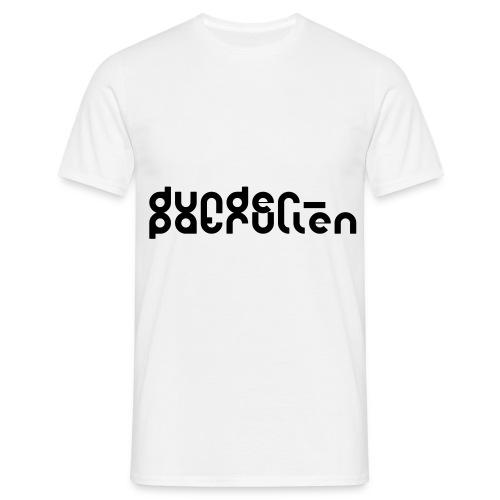 dunderlogga stor - T-shirt herr