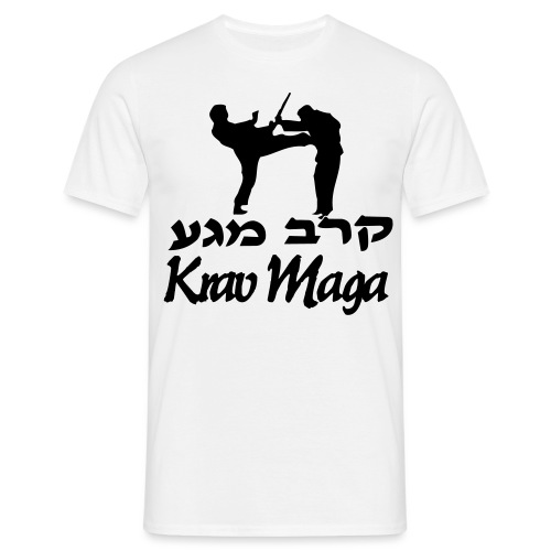 Krav Maga Front Kick - Men's T-Shirt