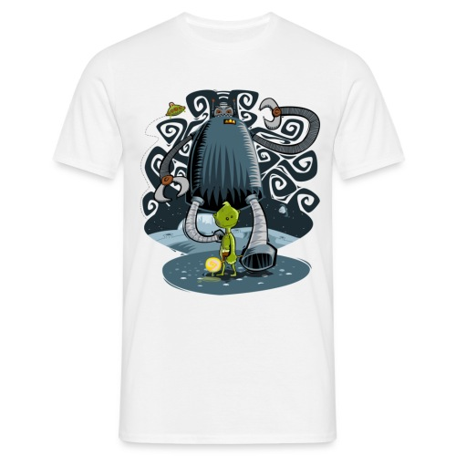 Robot bully - Men's T-Shirt