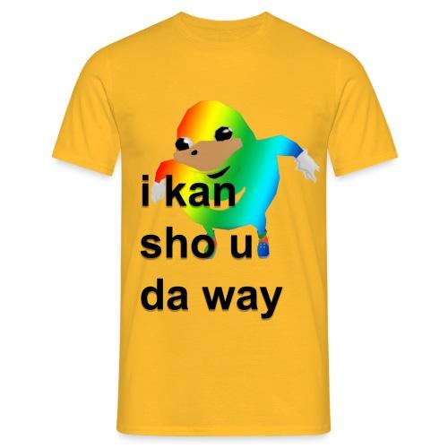 uganda - Miesten t-paita