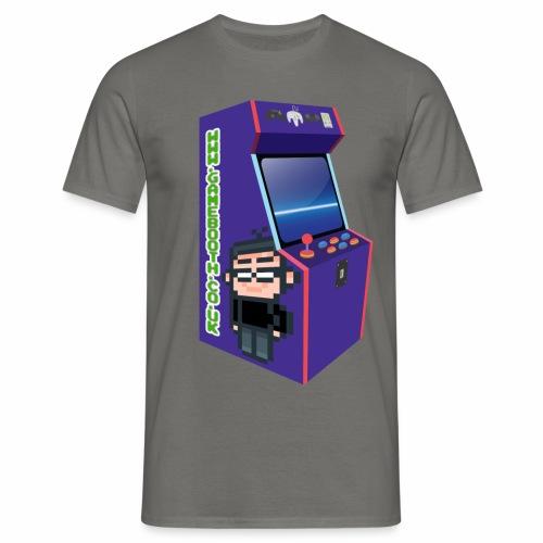 Game Booth Arcade Logo - Men's T-Shirt