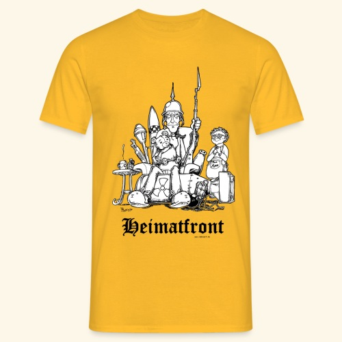 Heimatfront Mama Heimat Waffen Sohn Muttersöhnchen - Männer T-Shirt