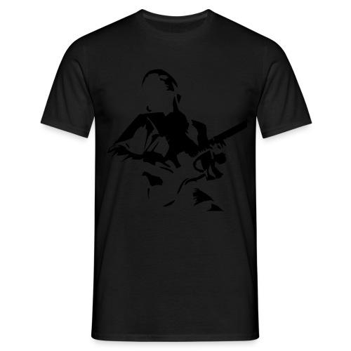 spreadshirt guitar - Camiseta hombre