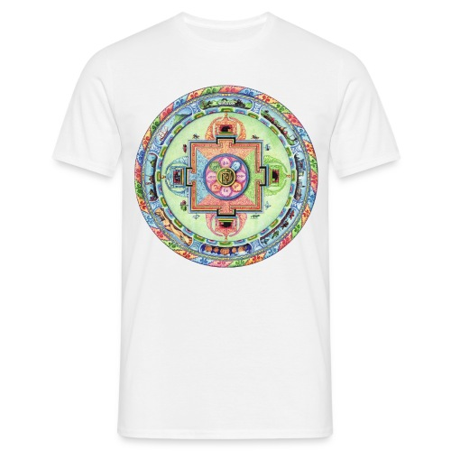 mandalamlodie2 - T-shirt Homme