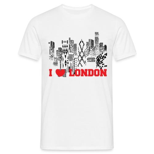 I LOVE LONDON SKYCRAPERS - Camiseta hombre